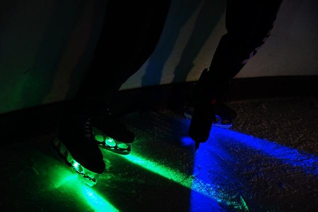 zeleno-modré světlo